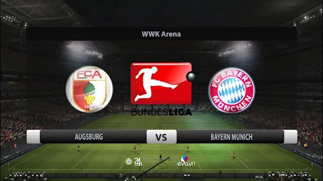 Highlight: Augsburg vs Bayern