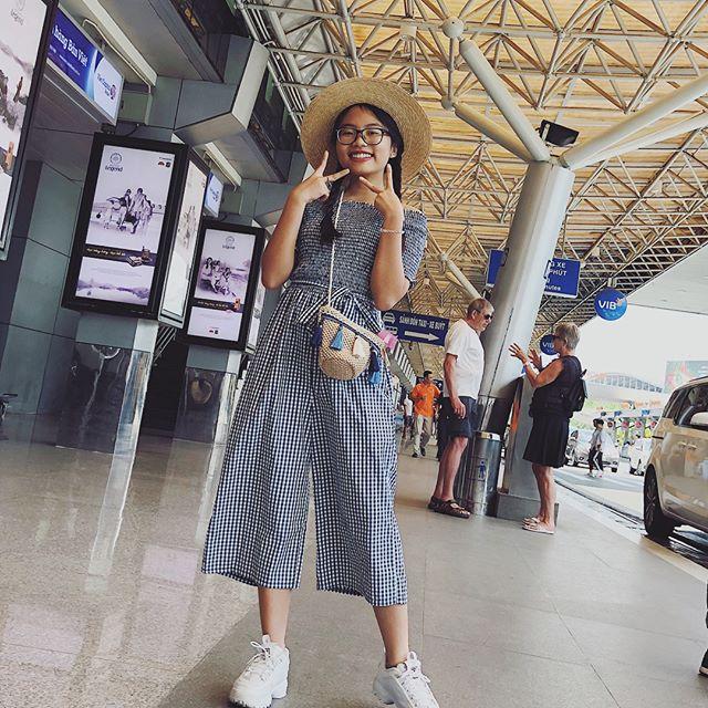 Phong cách ra phố sành điệu của Phương Mỹ Chi với short ngắn, quần rách te tua - 5