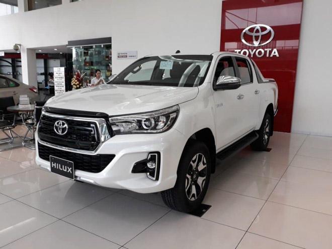 Giá lăn bánh xe bán tải Toyota Hilux 2019 - Cơ hội mua xe Toyota ưu đãi khủng - 3