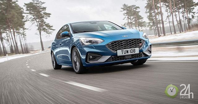 Ford chính thức vén màn Focus ST 2020 với sức mạnh 276 mã lực