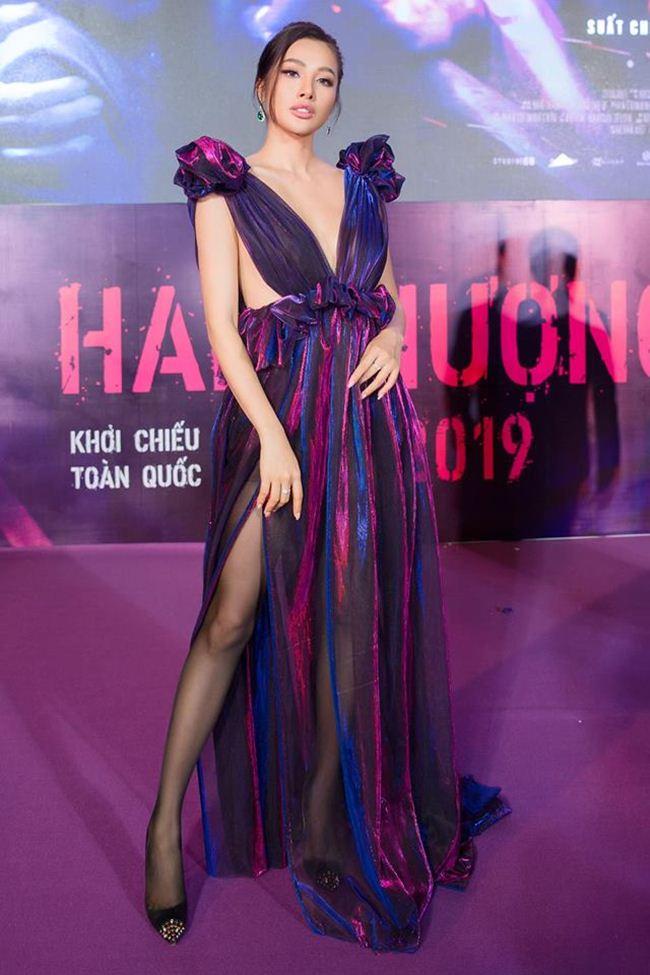 Tình cũ Lương Bằng Quang: Diện váy cắt xẻ hiểm nhưng lại không ghi điểm - 2