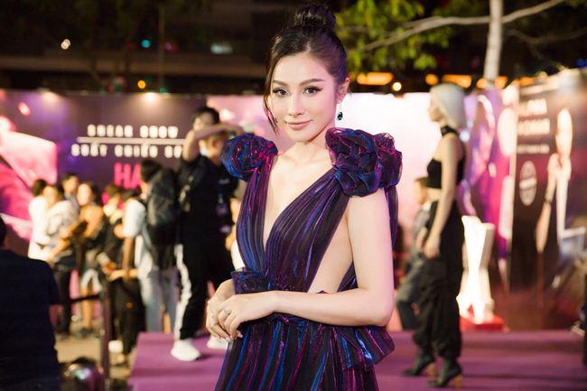 Tình cũ Lương Bằng Quang: Diện váy cắt xẻ hiểm nhưng lại không ghi điểm - 3