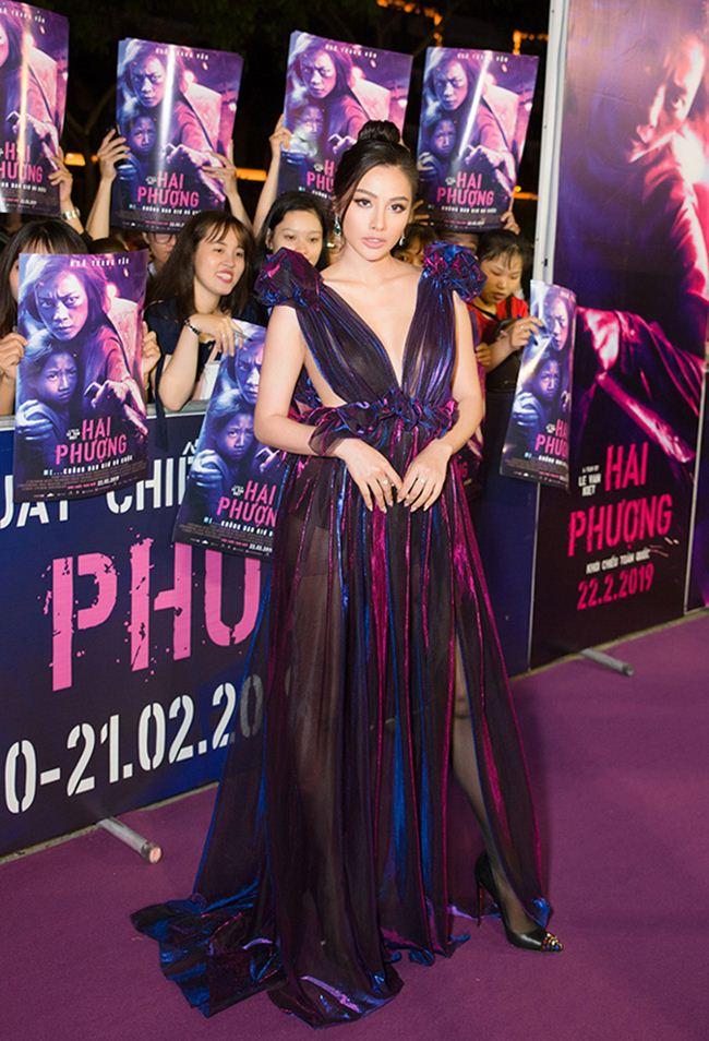 Tình cũ Lương Bằng Quang: Diện váy cắt xẻ hiểm nhưng lại không ghi điểm - 1