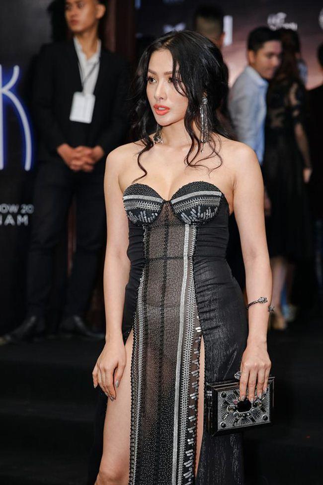 Tình cũ Lương Bằng Quang: Diện váy cắt xẻ hiểm nhưng lại không ghi điểm - 5