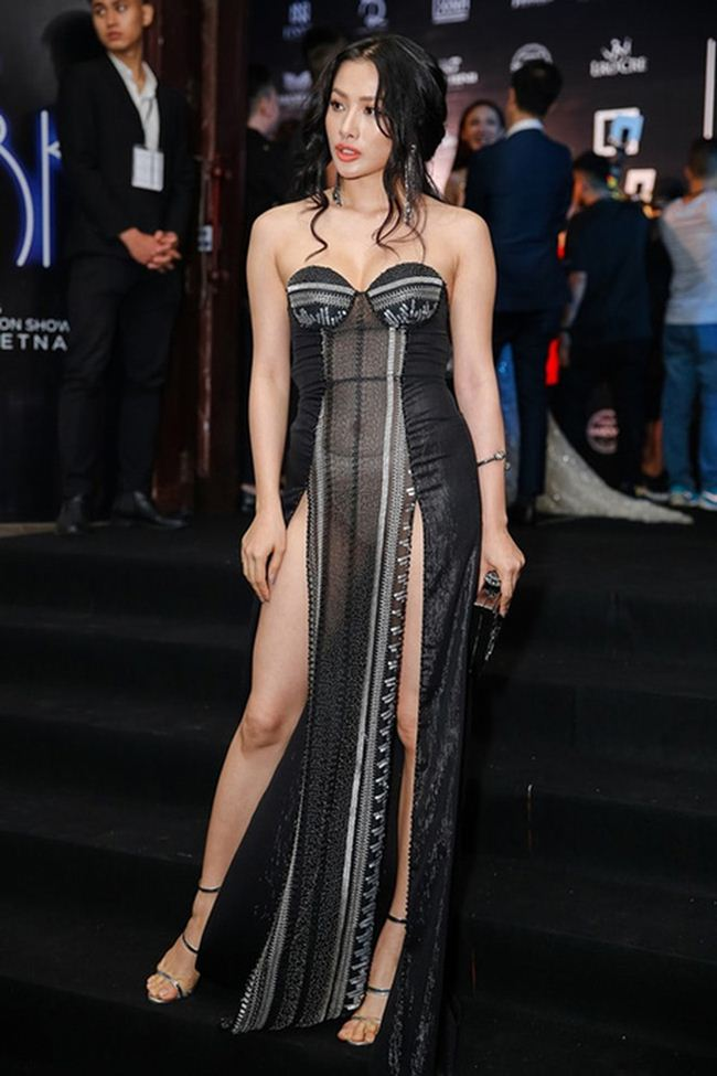 Tình cũ Lương Bằng Quang: Diện váy cắt xẻ hiểm nhưng lại không ghi điểm - 6