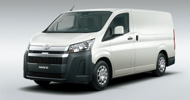 Toyota Hiace 2020 chính thức ra mắt với diện mạo mới, đi kèm hai cấu hình động cơ - 3