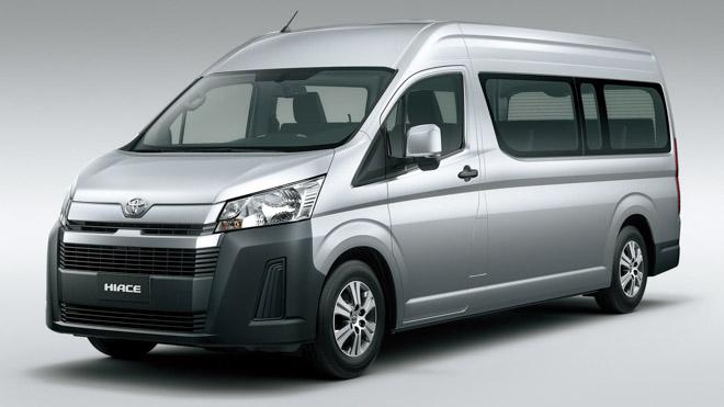 Toyota Hiace 2020 chính thức ra mắt với diện mạo mới, đi kèm hai cấu hình động cơ - 2