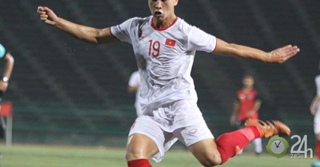 Sao trẻ U22 Việt Nam Trần Danh Trung: 3 bàn làm đối thủ sốc