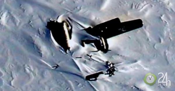 Phát hiện máy bay rơi ở Bắc Cực và điều hãi hùng với những người sống sót