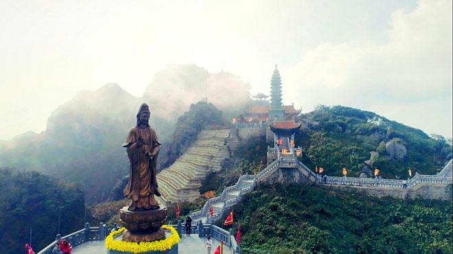 Chiêm ngưỡng tượng Phật cao nhất Việt Nam trên đỉnh núi Fansipan - 6