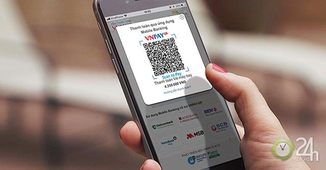 Ứng dụng mới của Vietnam Airlines được tích hợp thanh toán qua mã VNPAY-QR