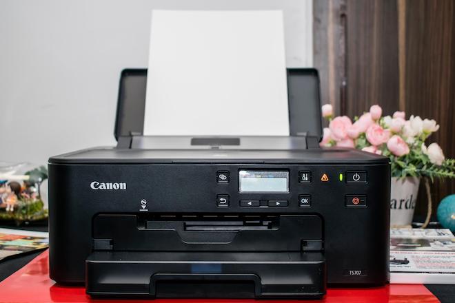 """Canon công bố máy in """"2 trong 1"""" mới: Có thể in ảnh, tài liệu từ... nửa vòng trái đất - 1"""