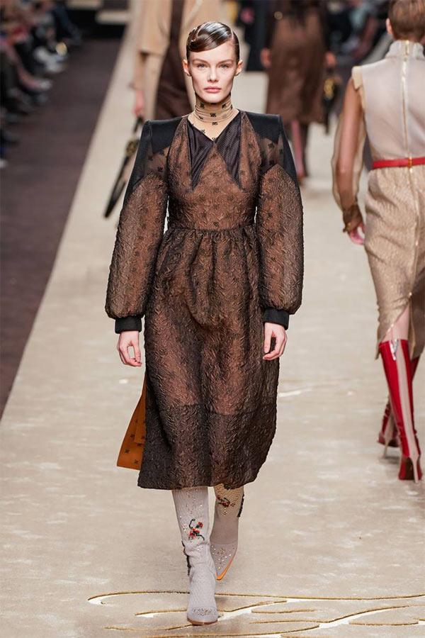Tuyệt tác cuối cùng của Karl Lagerfeld cho Fendi - 15