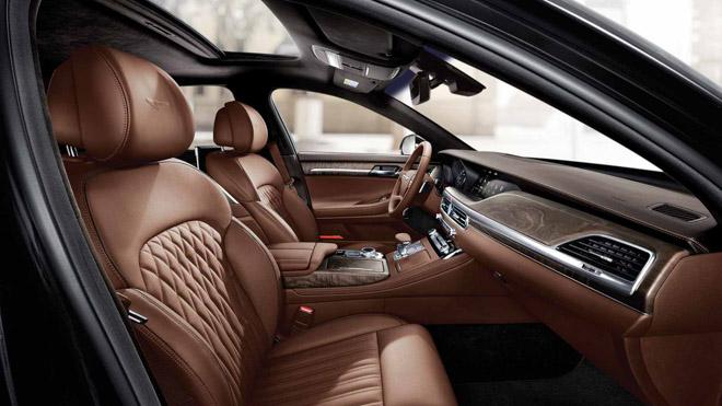 "Genesis tiếp tục ra mắt sedan hạng sang giá ""rẻ"" G90 Limousine - 9"