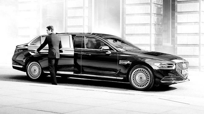 "Genesis tiếp tục ra mắt sedan hạng sang giá ""rẻ"" G90 Limousine - 2"