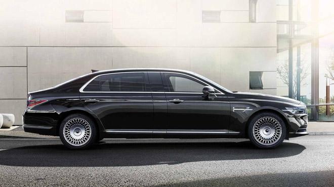 "Genesis tiếp tục ra mắt sedan hạng sang giá ""rẻ"" G90 Limousine - 3"