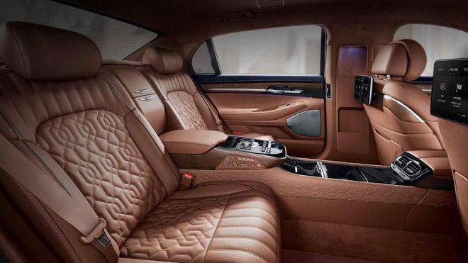 "Genesis tiếp tục ra mắt sedan hạng sang giá ""rẻ"" G90 Limousine - 5"