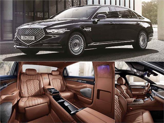 "Genesis tiếp tục ra mắt sedan hạng sang giá ""rẻ"" G90 Limousine"