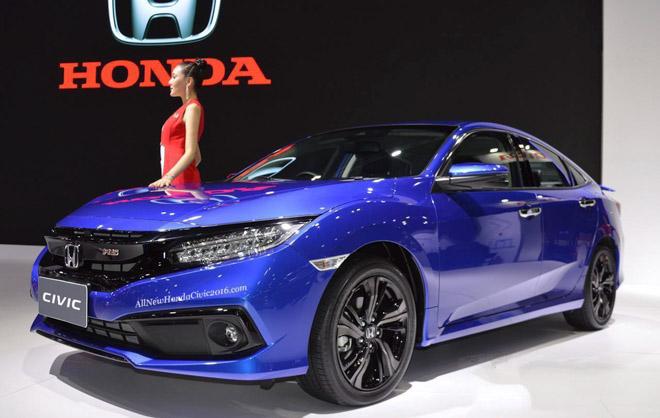 Honda Civic 2019 sắp được bán tại Việt Nam, bổ sung thêm bản RS mới - 1