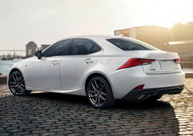 Lexus IS300 F-Sport bổ sung thêm bản đặc biệt Black Line, động cơ V6 mạnh 260 mã lực - 2