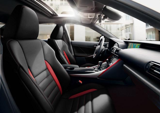 Lexus IS300 F-Sport bổ sung thêm bản đặc biệt Black Line, động cơ V6 mạnh 260 mã lực - 4