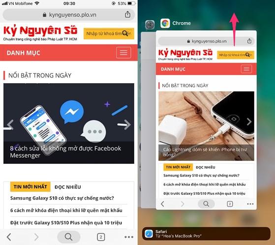Sửa lỗi 'ngốn' pin của Google Chrome trên iPhone-Công nghệ thông tin