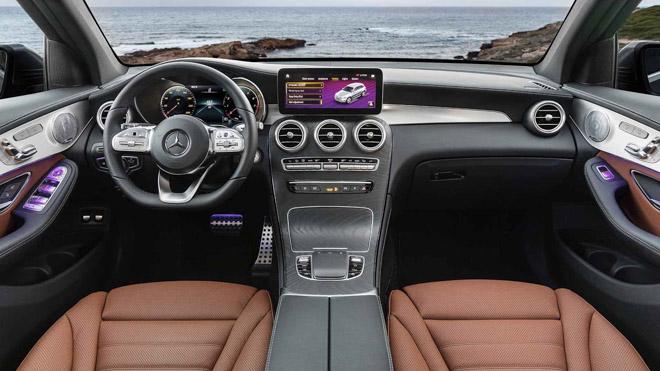 """Mercedes-Benz tung teaser """"nhá hàng"""" GLC Facelift 2020 mới - 8"""