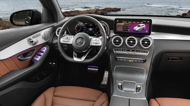"""Mercedes-Benz tung teaser """"nhá hàng"""" GLC Facelift 2020 mới - 9"""
