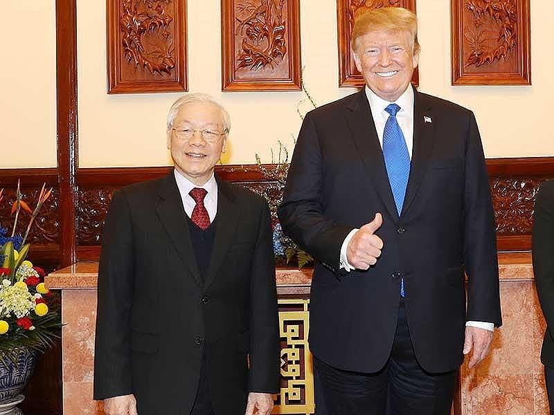 Thượng đỉnh Mỹ-Triều: Cú bắt tay lịch sử tại Hà Nội - 1