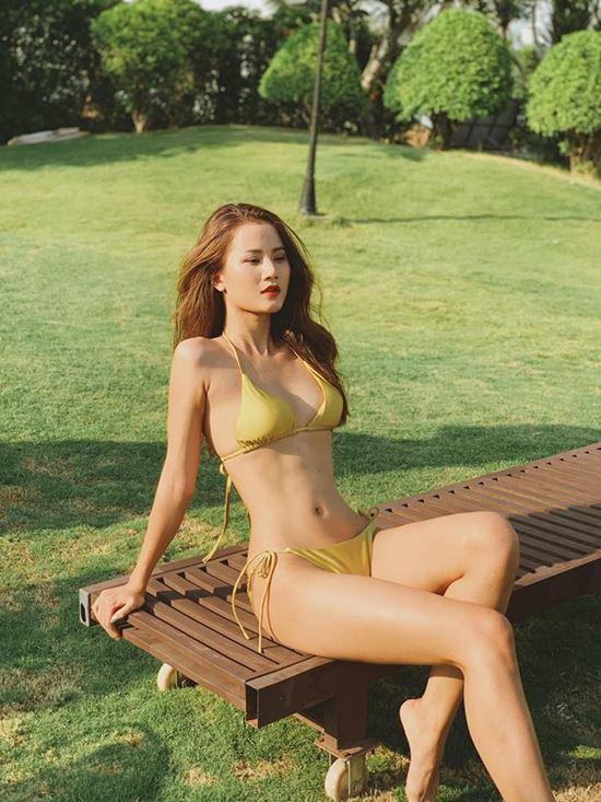 Xiêm y gợi cảm tôn thân hình như búp bê sống của người đẹp Sài Gòn