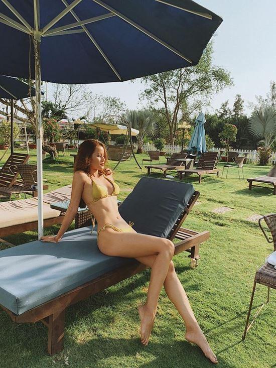 Thân hình đẹp như búp bê di động của người đẹp Sài Gòn - 2