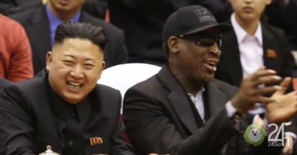 """Tình bạn kỳ lạ, """"suốt đời"""" giữa ông Kim Jong Un và cựu sao bóng rổ Mỹ"""