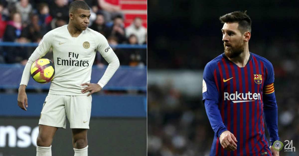Thần đồng Mbappe ghi 7 bàn/5 trận: MU khó cản, vượt Ronaldo tranh tài Messi