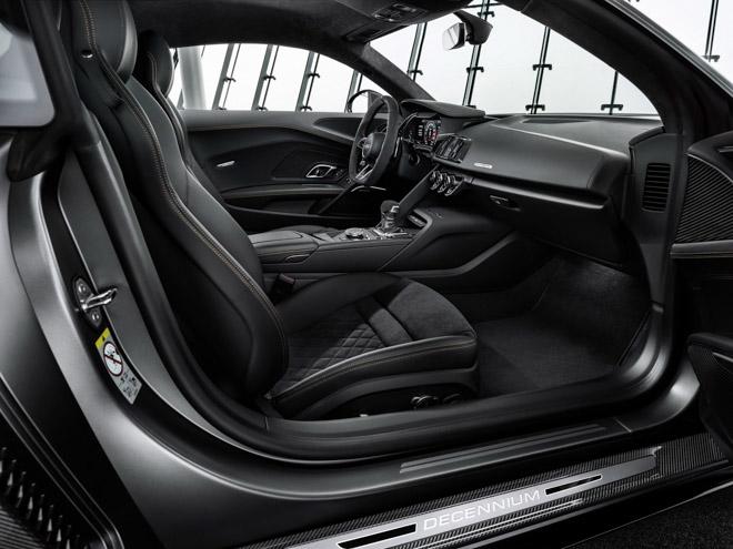 Audi R8 Decennium - Phiên bản kỷ niệm 10 năm động cơ V10 được lắp trên dòng xe R8 - 7