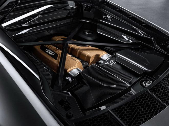 Audi R8 Decennium - Phiên bản kỷ niệm 10 năm động cơ V10 được lắp trên dòng xe R8 - 9