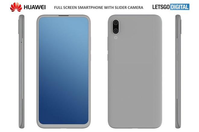 Xử xong smartphone gập lại, Huawei tiến tới smartphone dạng trượt - 1