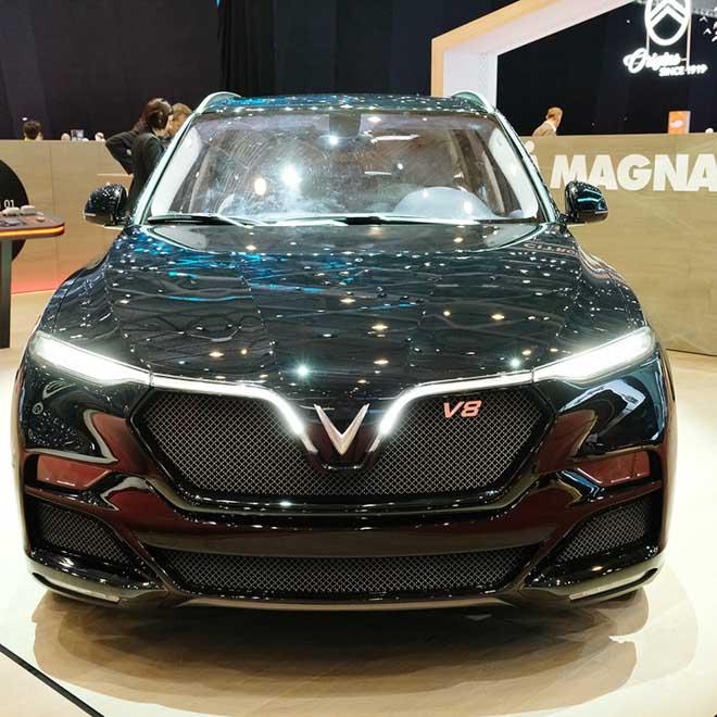 Mẫu SUV VinFast lắp động cơ V8 bất ngờ xuất hiện tại triển lãm Geneva Motor Show 2019 - 2