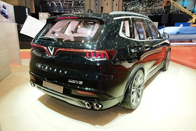 Mẫu SUV VinFast lắp động cơ V8 bất ngờ xuất hiện tại triển lãm Geneva Motor Show 2019 - 3