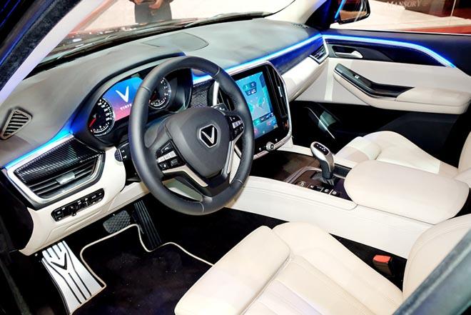 Mẫu SUV VinFast lắp động cơ V8 bất ngờ xuất hiện tại triển lãm Geneva Motor Show 2019 - 4