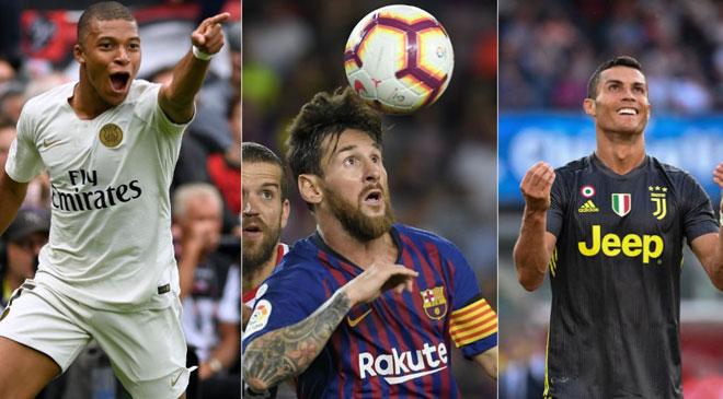 """""""Pele mới"""" Mbappe ở tuổi 20: Ronaldo & Messi thời bằng tuổi cũng """"hít khói"""" - 2"""