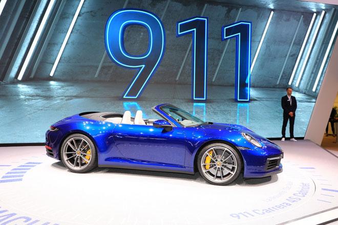 Ảnh thực tế Porsche 911 Cabriolet thế hệ mới tại Geneva Motor Show 2019 - 3