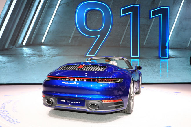 Ảnh thực tế Porsche 911 Cabriolet thế hệ mới tại Geneva Motor Show 2019 - 5