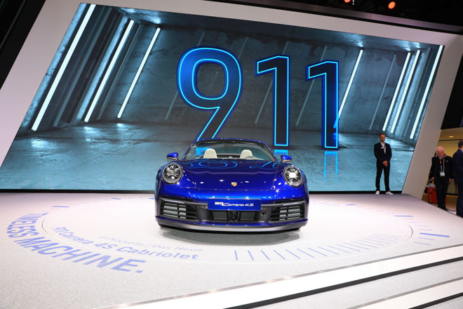 Ảnh thực tế Porsche 911 Cabriolet thế hệ mới tại Geneva Motor Show 2019 - 2