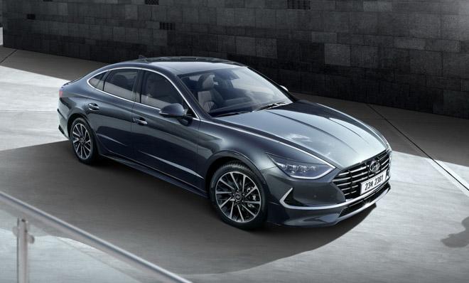 Hyundai Sonata 2020 ra mắt với diện mạo hoàn toàn mới, nội thất như xe Đức - 1