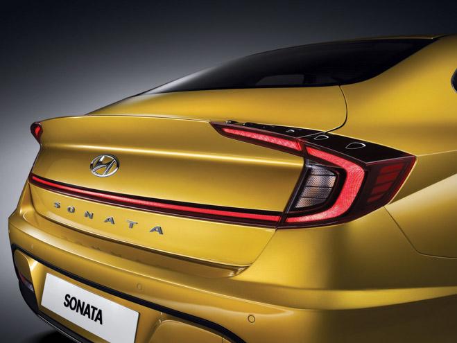 Hyundai Sonata 2020 ra mắt với diện mạo hoàn toàn mới, nội thất như xe Đức - 4