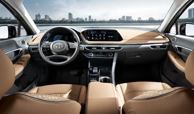 Hyundai Sonata 2020 ra mắt với diện mạo hoàn toàn mới, nội thất như xe Đức - 5