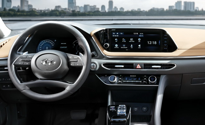 Hyundai Sonata 2020 ra mắt với diện mạo hoàn toàn mới, nội thất như xe Đức - 6