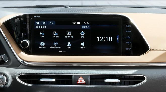Hyundai Sonata 2020 ra mắt với diện mạo hoàn toàn mới, nội thất như xe Đức - 7