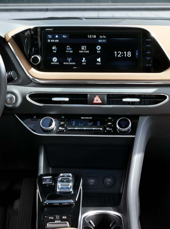 Hyundai Sonata 2020 ra mắt với diện mạo hoàn toàn mới, nội thất như xe Đức - 8