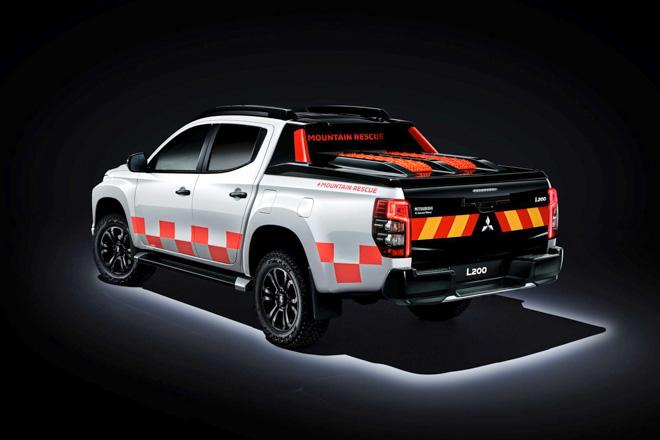 """Mitsubishi trưng bày Triton 2019 phiên bản cứu hộ """"Mountain Rescue"""" tại GMS 2019 - 9"""